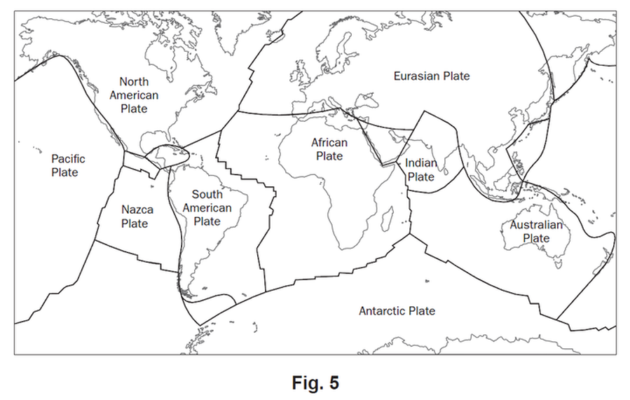Plate Tectonics Vikan 7 Science – Plate Tectonic Worksheet
